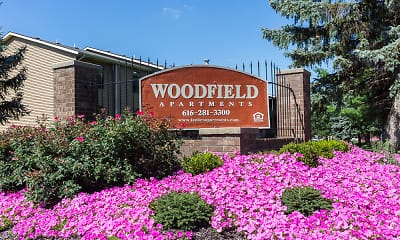 Community Signage, Woodfield Apartments, 0