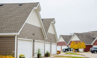 Building, Mequon Trail Townhomes, 2