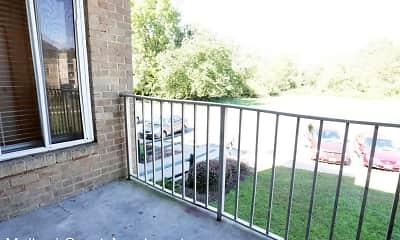 Patio / Deck, Mallard Courts Apartments, 2