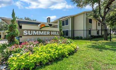 Community Signage, Summer Hill, 1