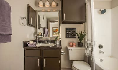 Bathroom, Sutter Creek, 2