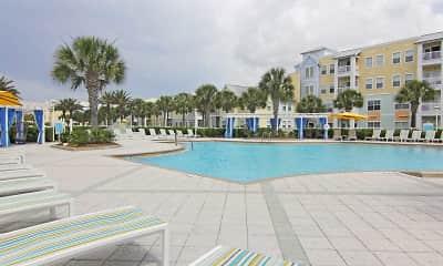 Pool, Cabana West, 1