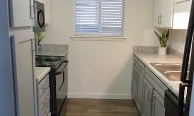 Kitchen, The Ridge at Crestwood Apartments, 0