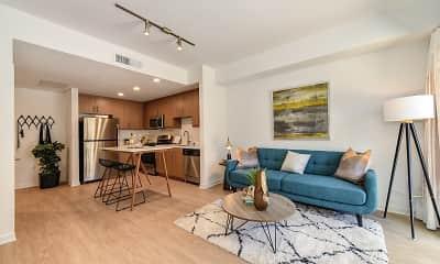 Living Room, LA1446 Tamarind, 1