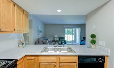 Kitchen, Hilltop Ridge, 1