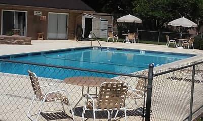 Pool, Tanglewood, 2