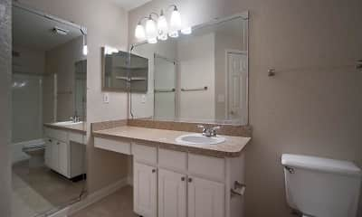 Bathroom, Osprey Links at Hunters Creek Apartments, 2