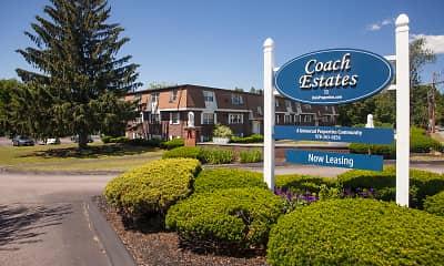 Community Signage, Coach Estates, 0