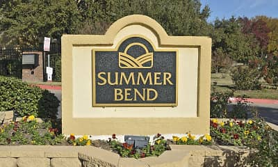 Community Signage, Summer Bend Apartments, 2