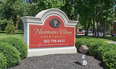 Community Signage, Naamans Village Apartments, 0