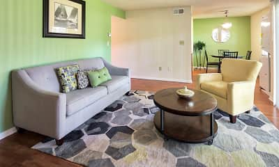 Living Room, Woodmere Trace Apartment Homes, 1