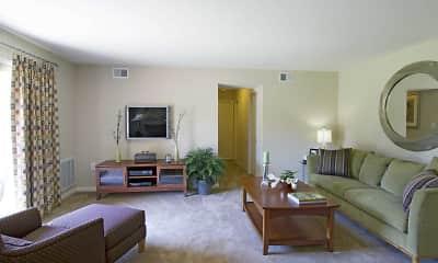 Living Room, Foxborough Estates, 0