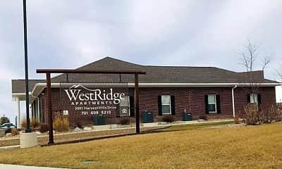 Community Signage, Westridge Apartments, 1