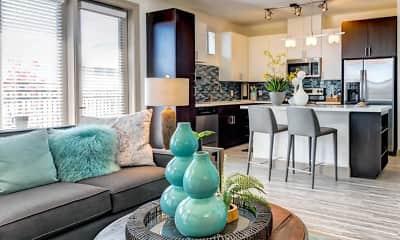 Living Room, VELA at Town Lake, 0