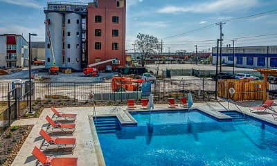 Pool, Peanut Factory Lofts, 1