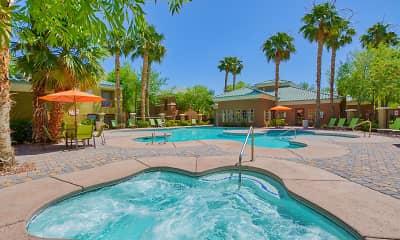 Pool, Arroyo Grande, 1