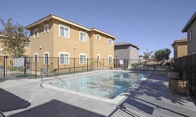 Pool, Andalusia Apartments, 2