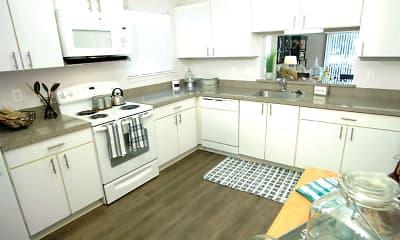 Kitchen, Westbury Village Townhouses, 1