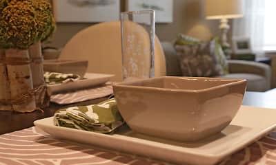 Dining Room, Simmons Crossing Senior Apartments, 1