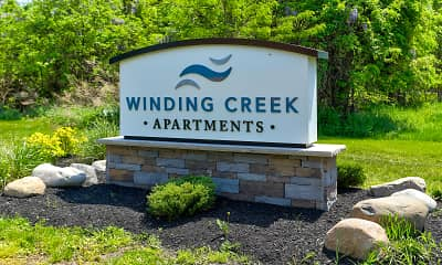 Community Signage, Winding Creek Apartments & Townhomes, 2
