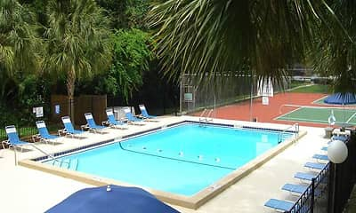 Pool, Creekwood Apartments, 0