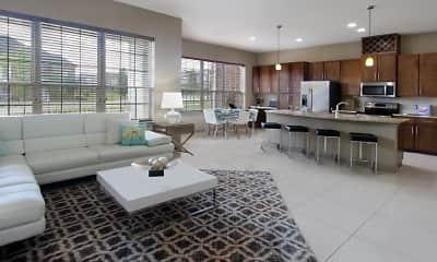 Living Room, BelleMeade Apartments, 0