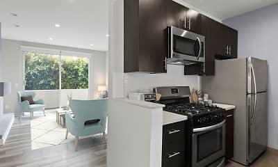 Kitchen, South Hayworth Lofts, 1