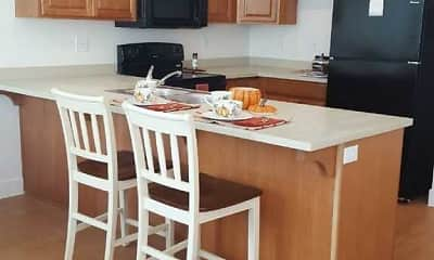 Kitchen, Villas at Fern Circle- Senior Living 55+, 1