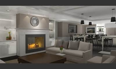 Living Room, Cedar Green Apartments, 1