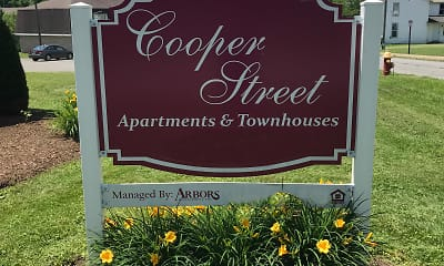 Community Signage, Cooper Street Apartments, 1