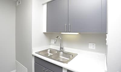 Kitchen, Downtown West Apartments, 2
