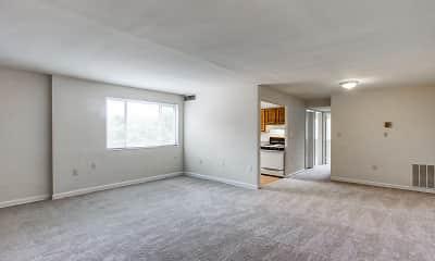 Living Room, Thayer Terrace, 1