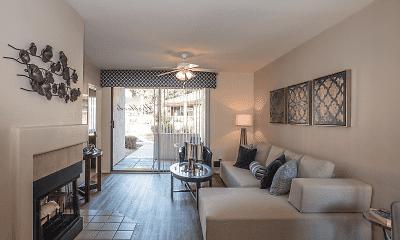 Living Room, Scottsdale Highlands, 1