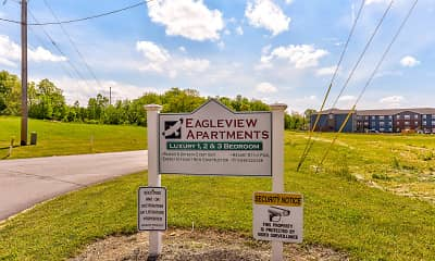 Community Signage, Ashland Eagleview Apartments, 2