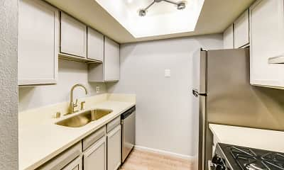 Kitchen, Berridge Villa Apartments, 1