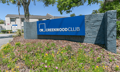 Community Signage, Creekwood Club, 0