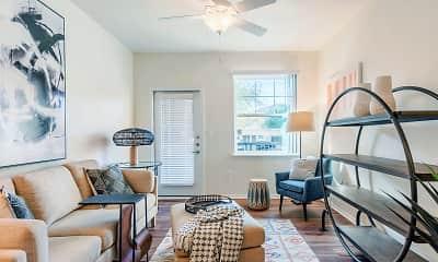 Living Room, Riverstation Apartments, 1