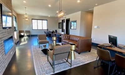 Living Room, Shannon Creek Apartments, 1