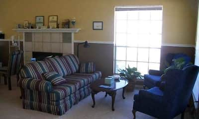 Living Room, Country Village Apartments, 2