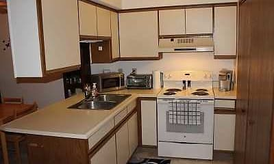 Kitchen, The Cottages, 2