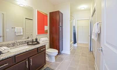 Bathroom, The Olivia on Main, 2