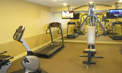 Fitness Weight Room, The Wellington House, 2