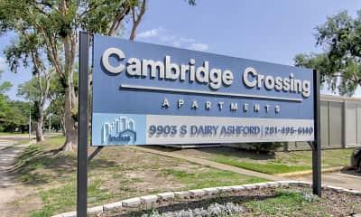 Community Signage, Huntington Village and Cambridge Crossing, 2