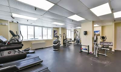 Fitness Weight Room, Ashton Heights, 2