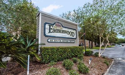Community Signage, Emberwood Apartments, 2