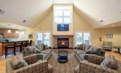 Living Room, The Apartments At Pike Creek, 0