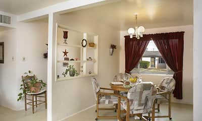 Dining Room, Soaring Heights Communities At Davis Monthan, 2