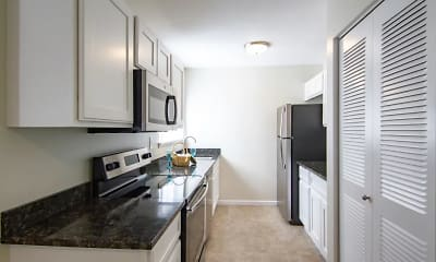 Kitchen, Fox Hill Apartments, 0