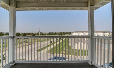 Patio / Deck, Southwood Apartments, 2