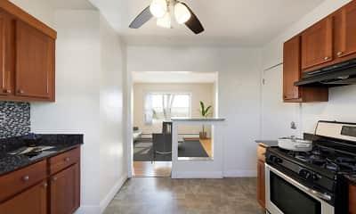 Kitchen, Lexington Park Apartments, 1